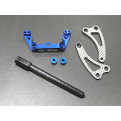 #TC4-030A SSG Front Graphite Chassis Braces for AE TC4