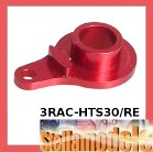 3RAC-HTS30/RE Servo Saver Horn - Single Hole - Red