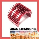 3RAC-MHS003/RE Aluminum Motor Heatsink for 540 Motor (Fan-Shaped) - Red