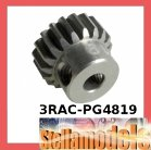 3RAC-PG4819 48 Pitch Pinion Gear 19T (7075 w/ Hard Coating)