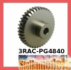 3RAC-PG4840 48 Pitch Pinion Gear 40T (7075 w/ Hard Coating)