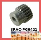 3RAC-PG6421 64 Pitch Pinion Gear 21T (7075 w/ Hard Coating)