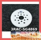 3RAC-SG4869 48 Pitch Spur Gear 69T