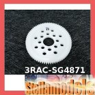 3RAC-SG4871 48 Pitch Spur Gear 71T