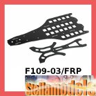 F109-03/FRP Main Chassis and Upper Deck FRP For F109