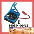 M03M-09/LB Aluminum Motor Heatsink + Fan for M-03 Series