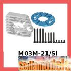 M03M-21/SI Motor Heatsink for M-03M Series