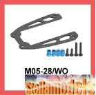 M05-28/WO Graphite Upper Deck for M-05