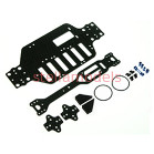 M18T-22/BU/WO Graphite Main Chassis Kit For M18T