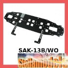 SAK-13B/WO Grap Main Chassis 2.25MM (Narrow) for Sakura Zero