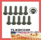 TS-BSM310M M3 x 10 Titanium Button Head Hex Socket - Machine (10 Pcs)