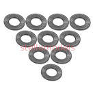 3RAC-WF305/TI Aluminium M3 Flat Washer 0.5mm (10 Pcs) - Titanium Color