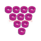 3RAC-WF325/PK Aluminium M3 Flat Washer 2.5mm (10 Pcs) - Pink