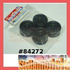 84272 Black Rally Dish Wheel 4pcs, (26mm/Offset+2)*4