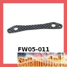FW05-011 Graphite Steering Plate for Kyosho FW-05R