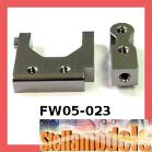 FW05-023 Aluminum Radio Tray Post W/ Steering Servo Mount for Kyosho FW-05R