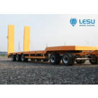 1/14 Low Loader Semi-Trailer (Orange, defects) (LS-A0001) [LESU]