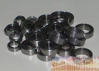 MBB-58632 Ball Bearing Set for TT-01 Type-E Team Hahn Racing MAN TGS (20Pcs.)