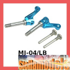 MI-04/LB Aluminum Front Knuckle Arm For Losi Micro-T