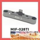 #MIF-028/TI Rear Susp Holder (3 Degrees) For MINI INFERNO Ti