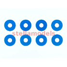 54573 0.75mm Wheel Spacer (Blue/8pcs.)