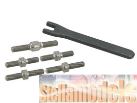TBS-FW06/V1 Titanium Turnbuckle Set Kyosho FW06