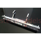 #TRA-6056sc Aluminum rear bumper : 56326/56330 40Ft. Container Semi-Trailer