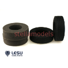 Tractor Truck Tires with inserts (30mm, 1Pr.) (TRU-020) [LESU]