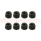 AM-13LN0030 Nylon Lock Nuts M3 (Black, 8pcs.)