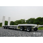 1/14 Low Loader Semi-Trailer (White) (LS-A0001) [LESU]