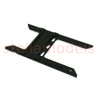 Aluminum coupler mount plate for Tamiya Tractor Truck (M-7001)