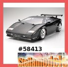 58413 TT-01 Type-E Lamborghini Countach LP500S w/ESC+LED