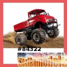 #84322 CW-01 Mercedes-Benz Unimog 406 Series U900 Wheelie (Red) w/ESC