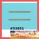 53851 46mm Titanium Coated Suspension Shafts (2PCS.)