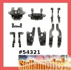 54321 TA06 Carbon Reinforced A Parts (Bulkhead)