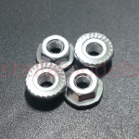 19805897 3mm Flange nut (4Pcs.)