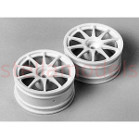 50732 10-Spoke One-Piece Wheels (1 Pair)