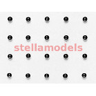 53379 3mm Lightweight Differential Ball Set (24Pcs.) [Bulk Packaging]