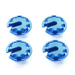 54776 Aluminum Damper Retainer (1mm Up Type) [TAMIYA]