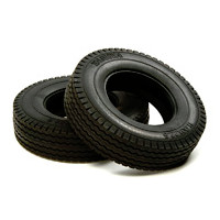 56527 Tractor Truck Tire (Hard / 22mm) 2pcs