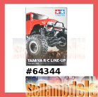 64344 Tamiya R/C Line-Up Vol. 2 2008 (English)