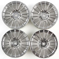 #84152 Medium-Narrow 18-Spoke Wheels (Chrome/±0)