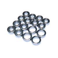 MBB-TT02 Ball Bearing Set for TT-02 Chassis (16 Pcs.)