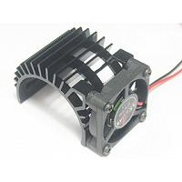 3RAC-MHS005/BL 540 Motor Heatsink w. Electric Fan - Black