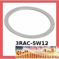 3RAC-SW12 Stainless Steel 12 x 14 mm Shim Spacer (3 Types / 10pcs. Each)