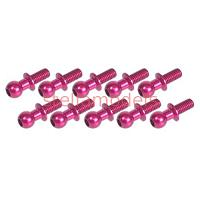 3RAC-BS4810/PK 4.8mm Ball Stud L=10 (10 pcs) - Pink