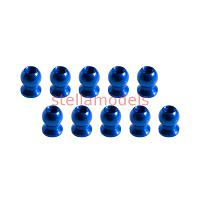 3RAC-BS58H5/BU 5.8mm Hex Ball Stud L=5 (10 pcs) - Blue
