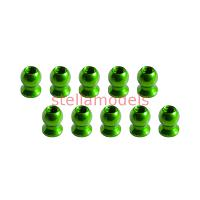 3RAC-BS58H5/GR 5.8mm Hex Ball Stud L=5 (10 pcs) - Green