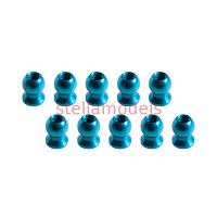 3RAC-BS58H5/LB 5.8mm Hex Ball Stud L=5 (10 pcs) - Light Blue