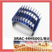 3RAC-MHS001/BU Aluminum Motor Heatsink for 540-Type Motors (High Finger) - Blue